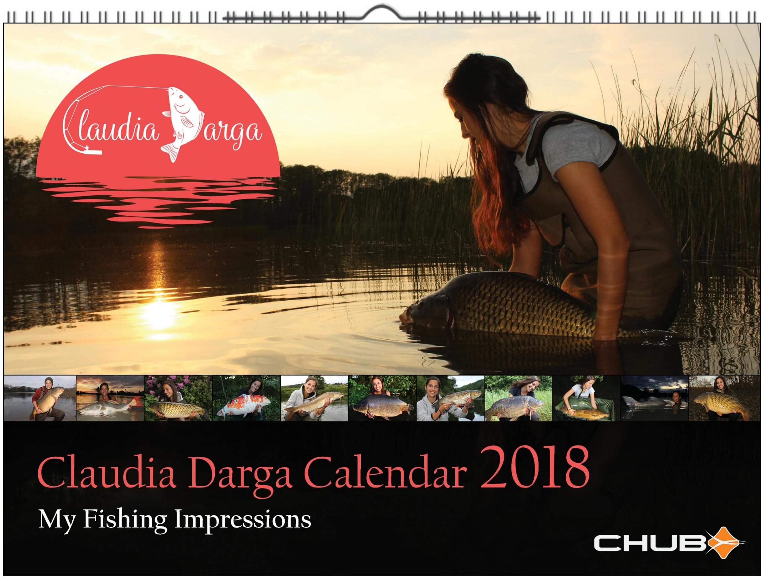 claudia darga calendar 2018